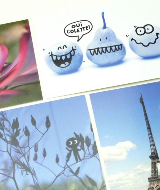 COLETTE CONCEPT-STORE Collection cartes postales
