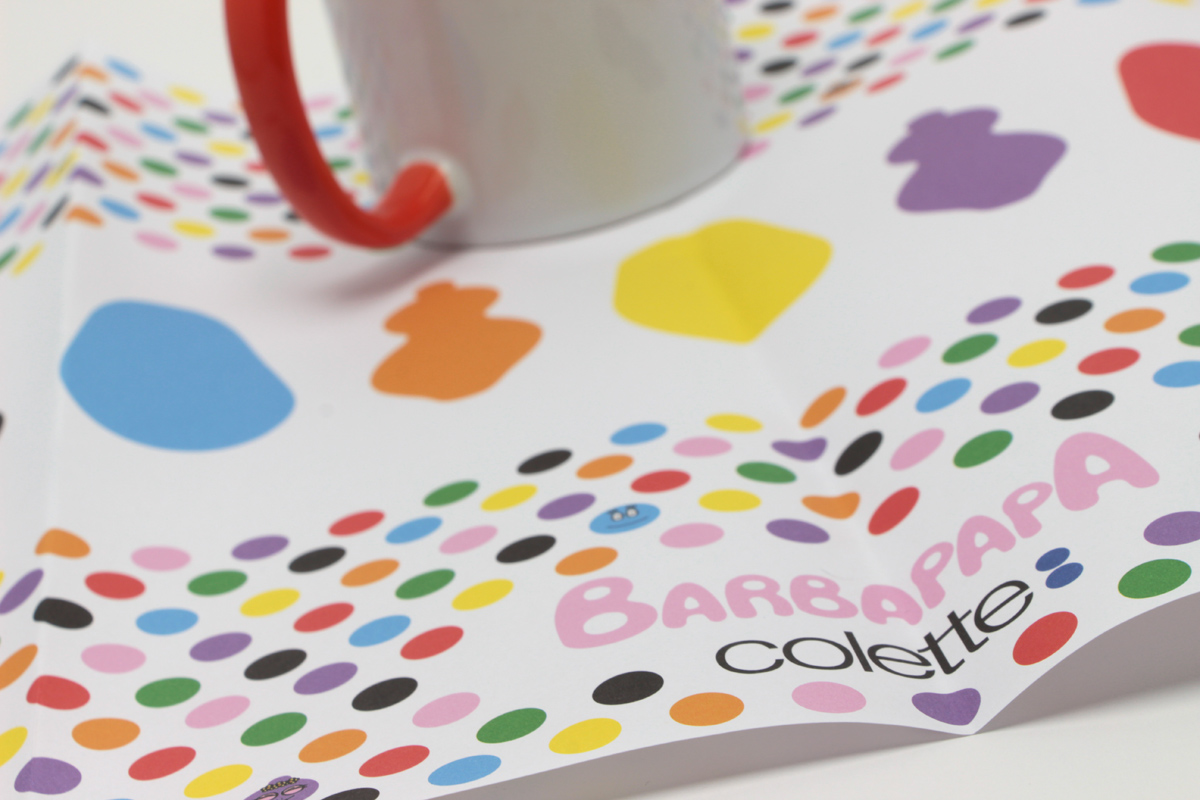 CONCEPT-STORE COLETTE - SETS DE TABLE - FEMOFFSET