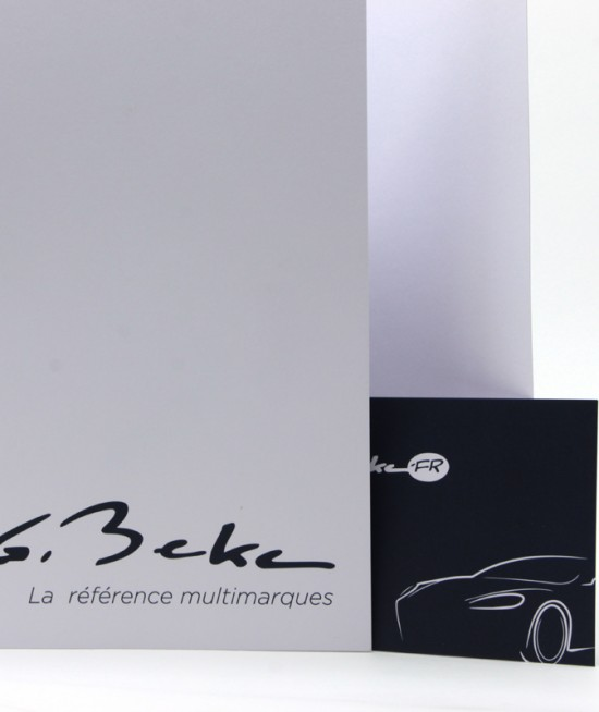 Concessionnaire G. BECKE - FEM OFFSET Imprimeur