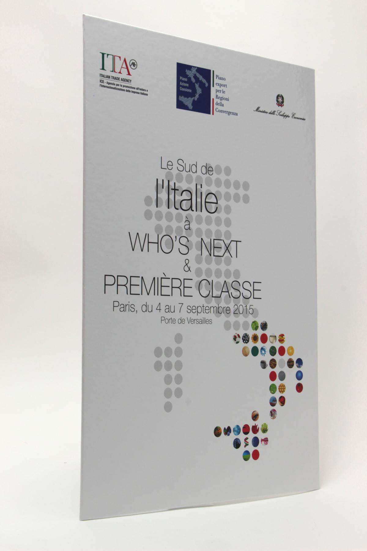 ITA Italian Trade Agency PLV auto-portante