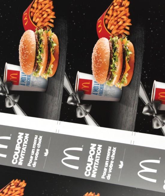 MAC DONALD - Carte de réduction