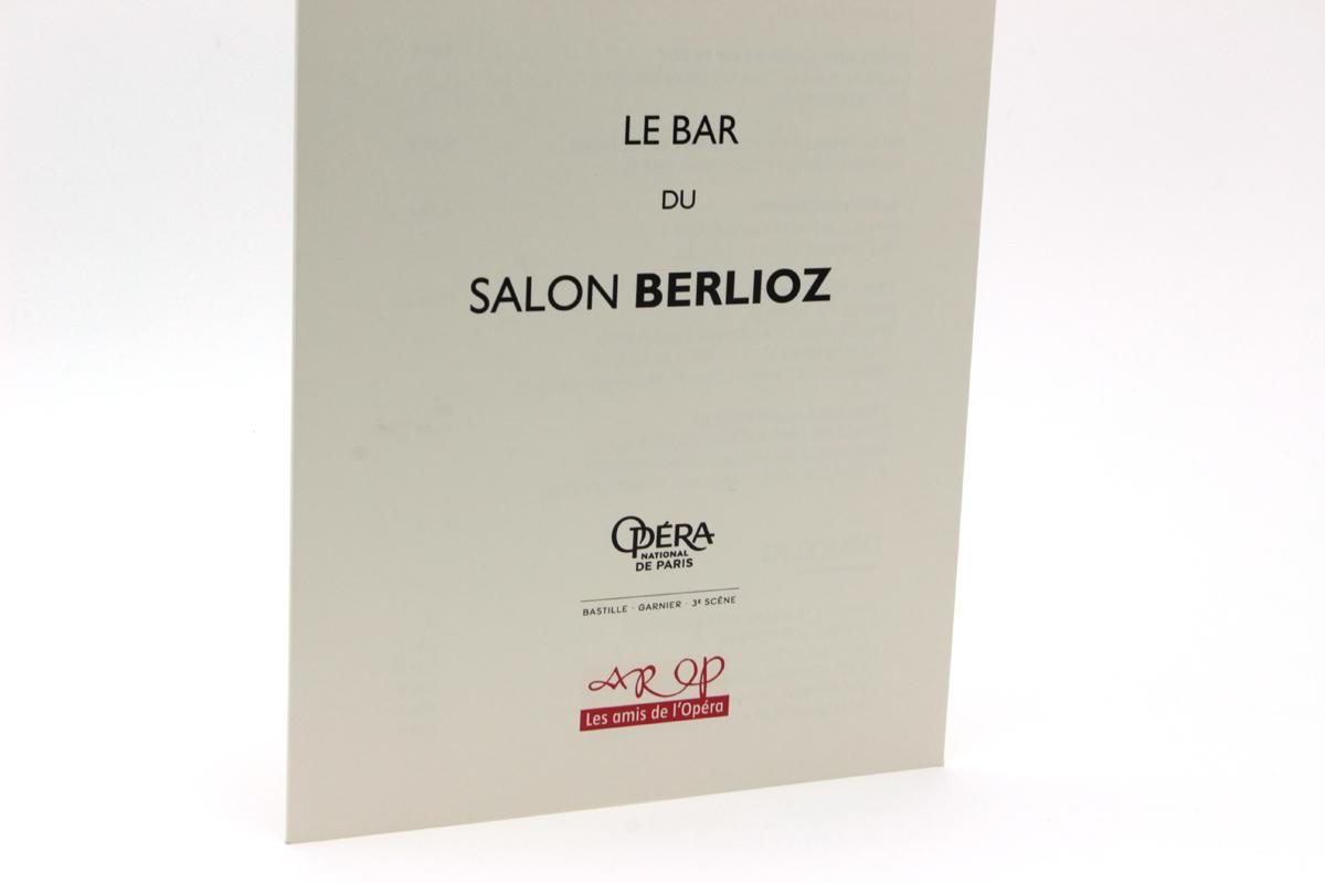 OPÉRA DE PARIS Salon Berlioz