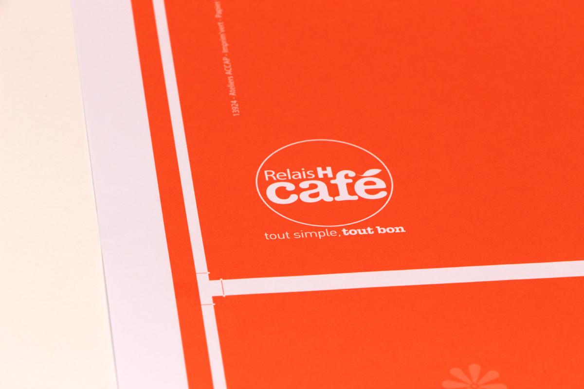RELAI H café Set de plateau