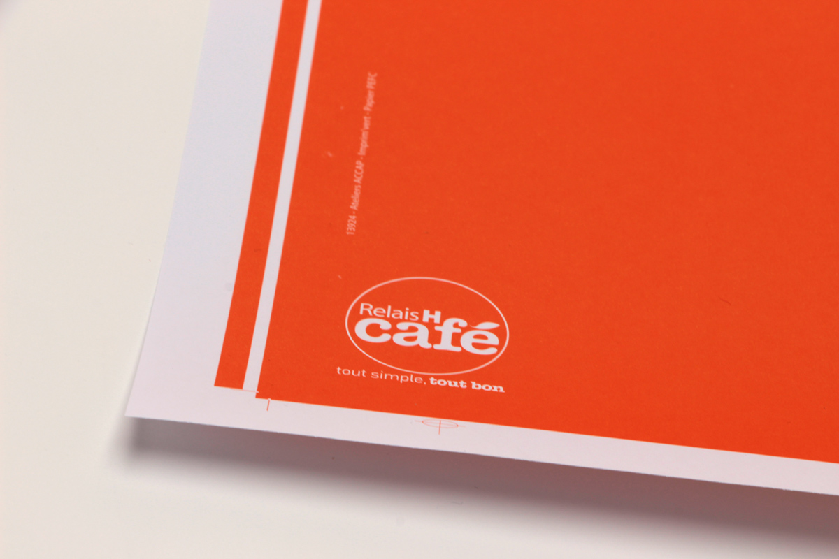 RELAI H café - Impression FEM OFFSET